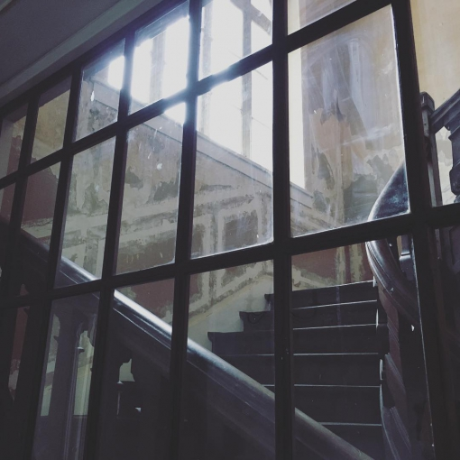 Haunted french house 👻. Repérage pour notre prochaine production, un clip réalisé par Guillaume Carayol.