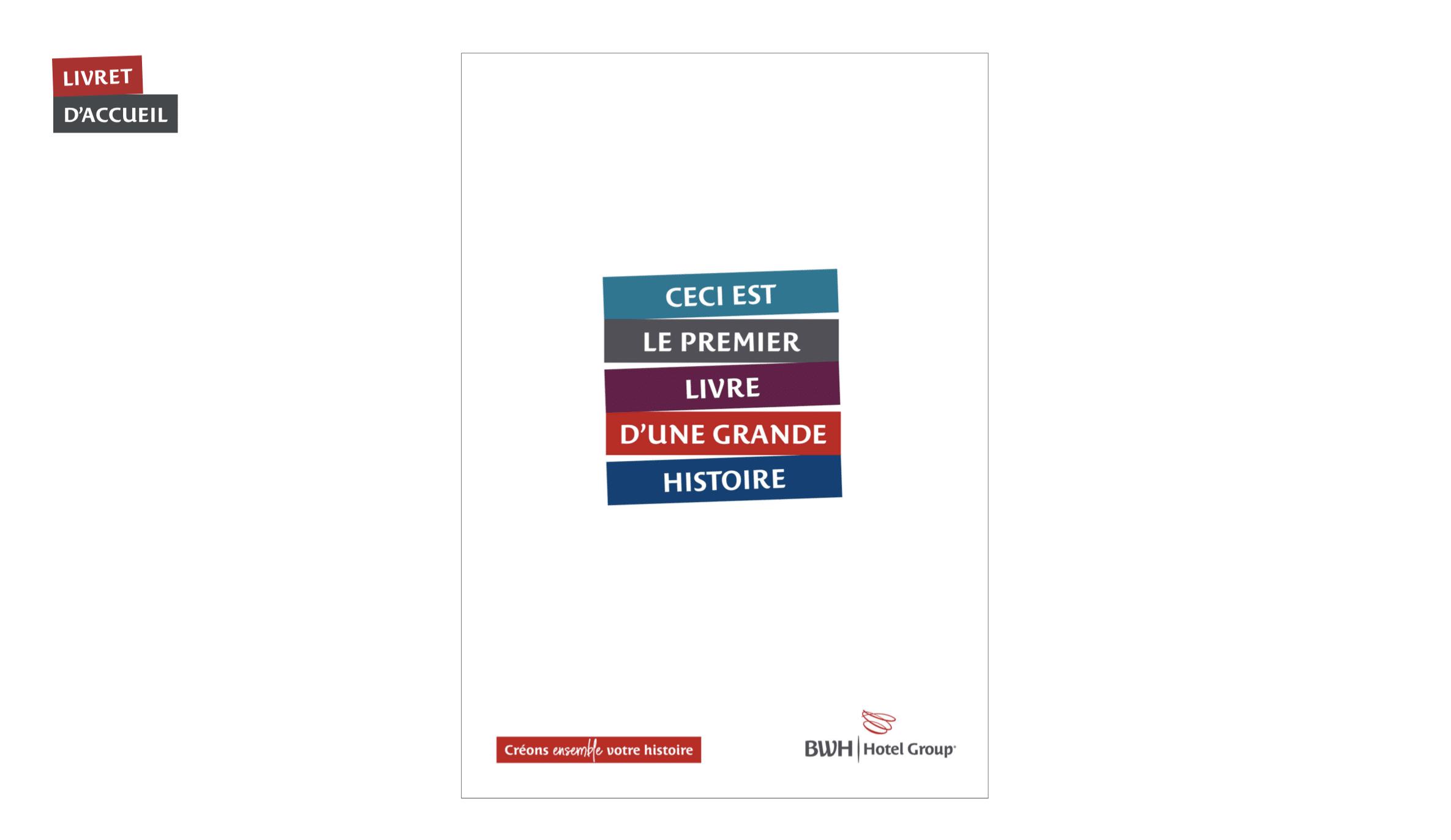 Welcome Book – Identite Visuelle – Best Western